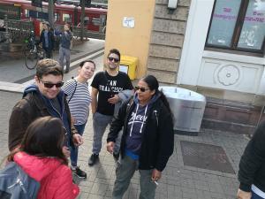 Ankunft Neustadt